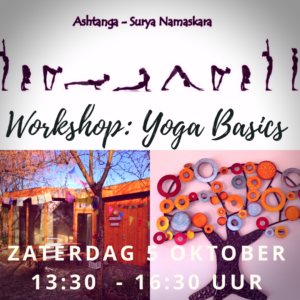 workshop yoga basics zonnegroet